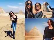Глория и Симона на пътешествие в Египет width=
