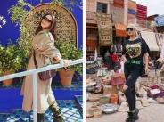 Галена и Цвети Янева снимат клип в Мароко