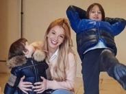 Емилия празнува втори рожден ден на дъщеричката си