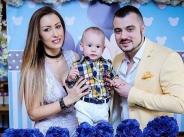 Джена и Наско Стоев отпразнуваха първи рожден ден на сина си