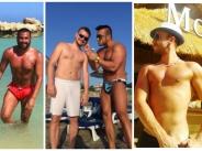 Мъжете в поп-фолка хванати на плажа по бански