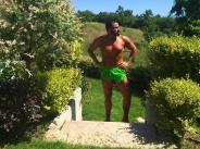 Азис насаме с градинаря си