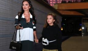 Дъщеричката на Мария дефилира на Седмицата на модата