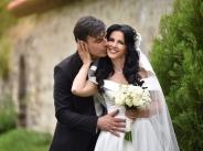 Снимки от сватбата на Роси Пейчева
