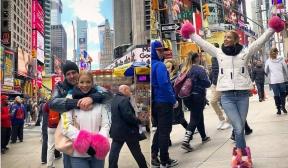 Емилия на романтично пътешествие до Ню Йорк с новия си любим мъж