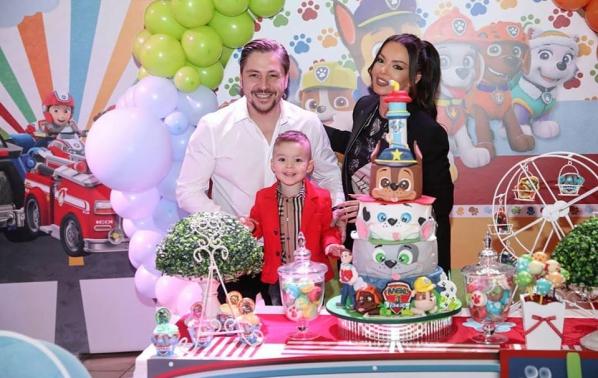 Галена отпразнува трети рожден ден на сина си Александър