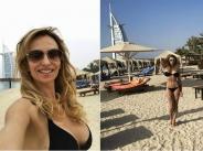 Малина разкри с кой мъж е в Дубай