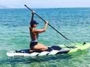 Глория показа страхотно тяло на плажа