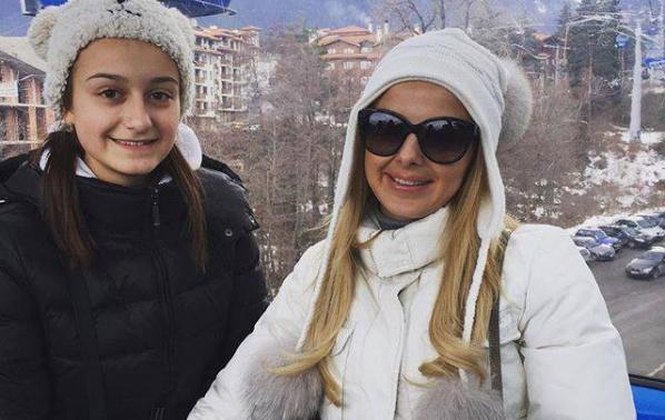 Соня Немска показа дъщеря си