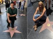 Емилия и Жорж Башур на пътешествие в Лос Анджелис width=