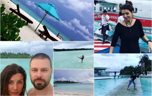 Кали и любимият й Влади с романтично пътешествие до Малдивите