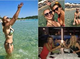 Соня Немска избра Гърция за своята лятна ваканция