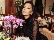 Галена с рокля за хиляди евра на рождения си ден