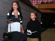 Дъщеричката на Мария дефилира на Седмицата на модата width=