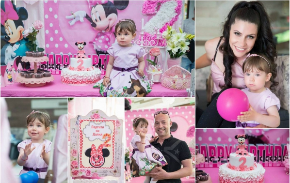 Сиана отпразнува първи рожден ден на своята дъщеричка