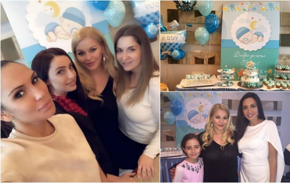 Деси Слава организира първо бебешко парти за малкия Борис
