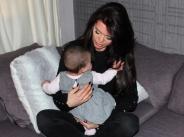 Преслава отпразнува 6-месечен празник на дъщеря си Паола