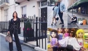 Галена на тур по тузарски места в Лондон