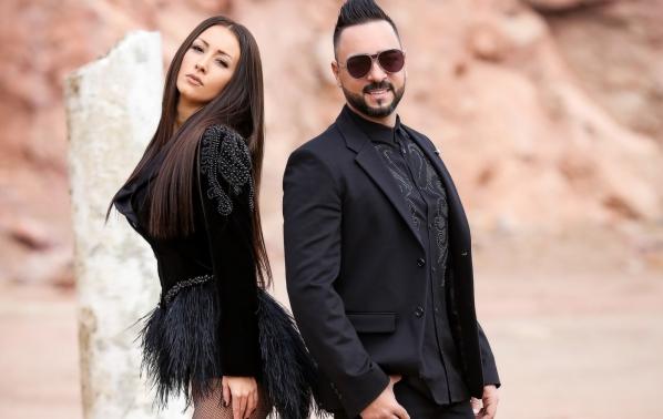 Джена и Андреас с втори дует
