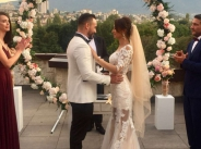 Джулия и Кристиян вдигнаха сватба