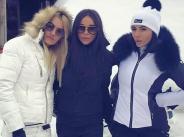 Снимки от снежната ваканция на Алисия