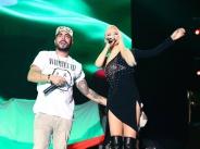Пирамиди и хип-хоп на традиционния годишен поп-фолк концерт