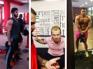 /СНИМКИ/ Мъжете в поп-фолка не излизат от фитнес залите