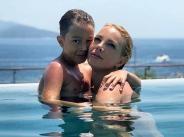 Емилия показа снимки от лятната си ваканция с децата и Жорж Башур