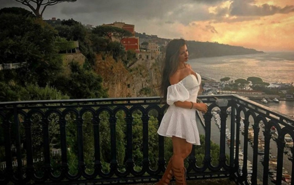 Райна на романтично пътешествие в Италия