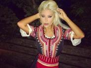 Андреа облече народна носия