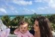 Часове преди настъпването на 2016 година Теодора се любуваше на слънчевите лъчи в Маями в компанията на своята дъщеря Мария