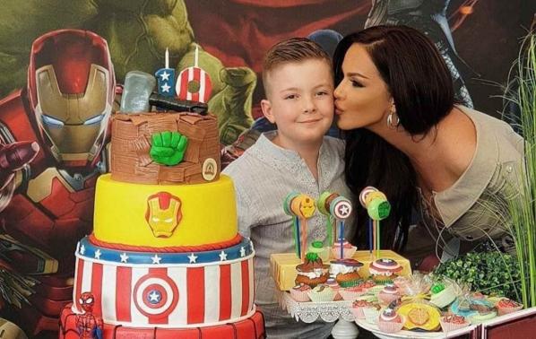 Парти за 10-тия рожден ден на сина на Галена