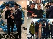 Фики и Гюлджан с парти за рождения ден на сина си като сватба