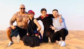 Софи Маринова отпразнува рожден ден в Дубай