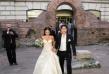 Мария първо се премени в бяла рокля за сватбата си с Димитър Андонов. Двамата имат дъщеричка Марая, но тя не успя да задържи любовта им. Днес Мария има брак с Християн Гущеров, с когото се радват на спокоен семеен живот