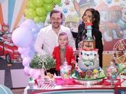 Галена отпразнува трети рожден ден на сина си Александър width=